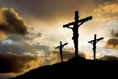 Crucifixion crosses